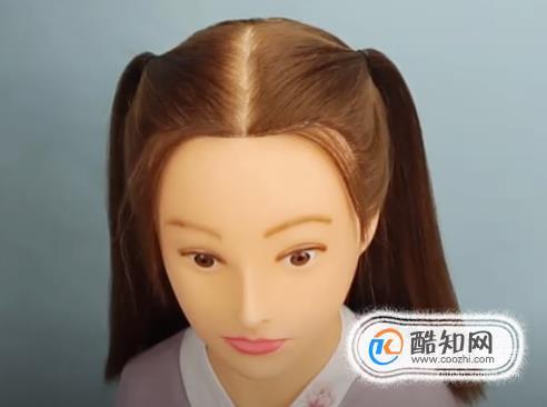 娃娃古装发型教程